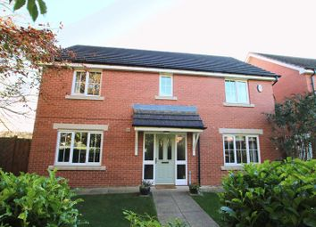 Thumbnail 4 bed detached house for sale in Cherrytree Drive, School Aycliffe, Newton Aycliffe