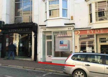 Thumbnail Retail premises to let in Victoria Arcade, Union Street, Ryde
