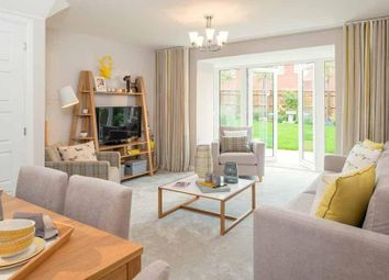 "Thumbnail 3 bed semi-detached house for sale in ""Norbury"" at Briggington, Leighton Buzzard"
