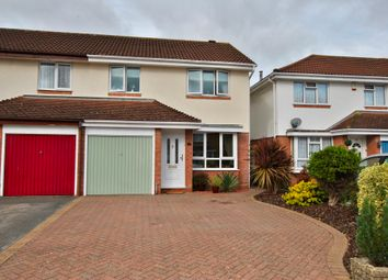 Thumbnail 3 bed semi-detached house for sale in Victor Way, Woodley, Wokingham, Reading