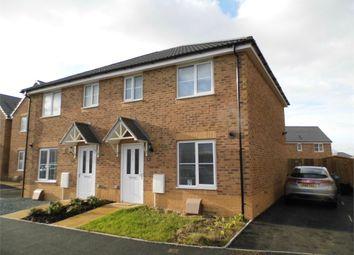 Thumbnail 3 bed semi-detached house for sale in Heol Tredwr, Waterton, Bridgend, Bridgend, Mid Glamorgan