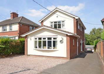 Thumbnail 3 bed detached house for sale in Gravelly Bank, Stoke-On-Trent