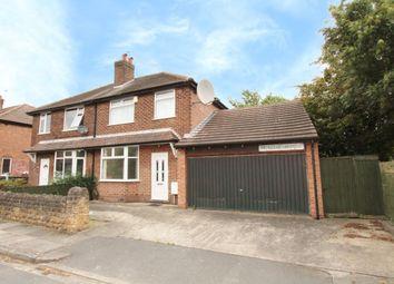 Thumbnail 3 bedroom semi-detached house for sale in Princess Avenue, Beeston, Nottingham