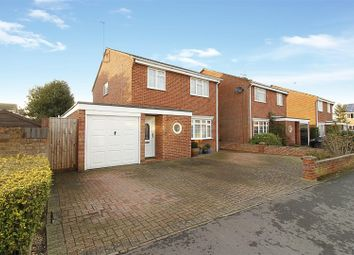 Thumbnail 4 bed detached house for sale in Burchnall Close, Deeping St. James, Peterborough