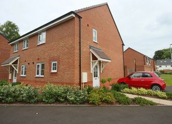 Thumbnail 3 bed semi-detached house for sale in Hollingworth Close, Yarnfield, Stone