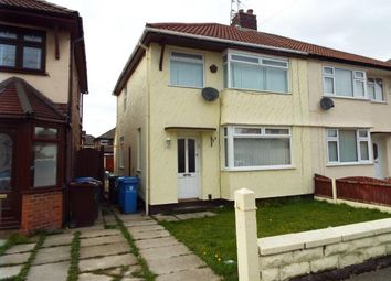 Thumbnail 3 bed semi-detached house for sale in Jeffereys Crescent, Liverpool, Merseyside