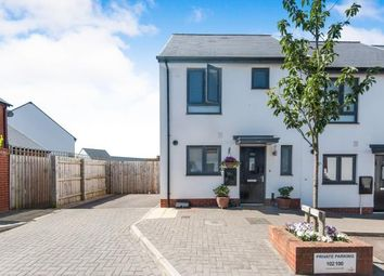 Thumbnail 2 bed end terrace house for sale in Exminster, Exeter, Devon