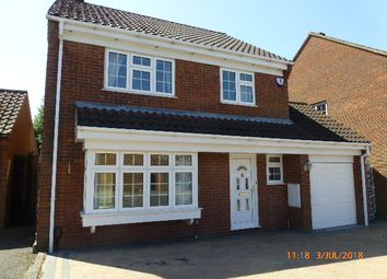 Thumbnail 4 bed detached house to rent in Cromer Way, Bushmead, Luton