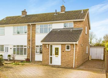 Thumbnail 3 bedroom semi-detached house for sale in Elm Drive, Offord Cluny, St. Neots, Cambridgeshire
