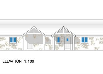 Thumbnail 2 bed semi-detached bungalow for sale in Units 5 And 6 (The Gribben), Trethosa Road, St Stephen