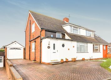Thumbnail 3 bed semi-detached house for sale in Mandeville Road, Hertford