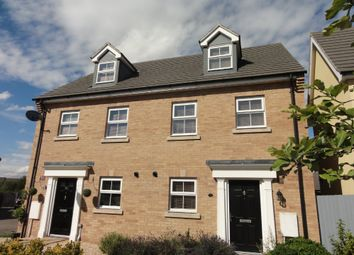Thumbnail 3 bedroom town house to rent in Sycamore Drive, Bury St Edmunds