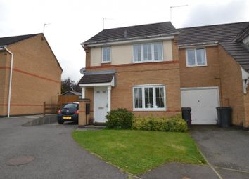 Thumbnail 3 bed detached house to rent in Derry's Hollow, Ellistown, Leics