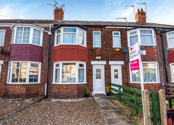 Thumbnail 2 bedroom terraced house for sale in Rockford Avenue, Chamberlain Road, Hull