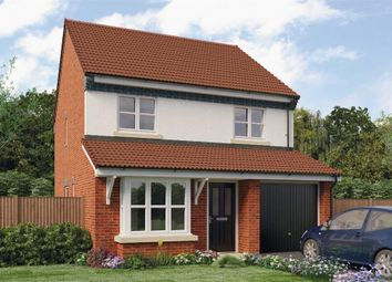 "Thumbnail 4 bed detached house for sale in ""Hallam"" at Croston Road, Farington Moss, Leyland"