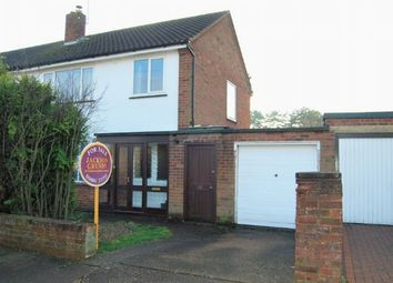 Thumbnail 3 bed semi-detached house for sale in Debdale Road, The Headlands, Northampton