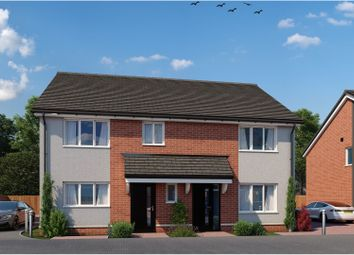 Thumbnail 2 bed semi-detached house for sale in Valley Gardens, Leiston