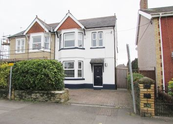 Thumbnail 4 bed semi-detached house for sale in 25 Coychurch Road, Pencoed, Bridgend.