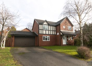 Thumbnail 4 bed detached house for sale in The Beeches, Hope, Wrexham