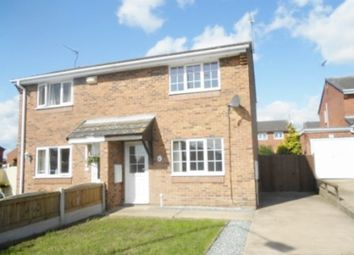 Thumbnail 2 bed semi-detached house to rent in Wharfedale, Worksop