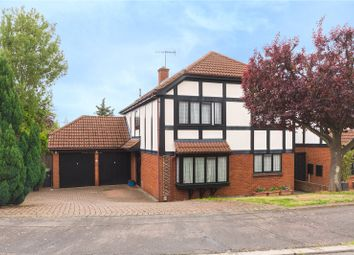 Thumbnail 4 bed detached house for sale in Albany Close, Bushey