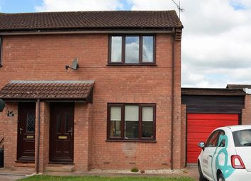 Thumbnail 2 bedroom semi-detached house to rent in Culm Lea, Cullompton