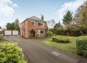 Thumbnail 4 bed detached house for sale in Abbey Road, Elworth, Sandbach, Cheshire