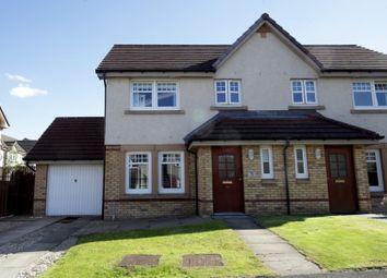 Thumbnail 3 bed semi-detached house for sale in Mcmahon Drive, Newmains, Wishaw