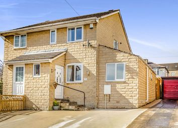 Thumbnail 3 bed semi-detached house for sale in Rutland Road, Longwood, Huddersfield