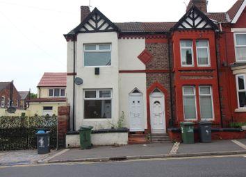 Thumbnail 2 bed end terrace house for sale in Willmer Road, Birkenhead, Merseyside