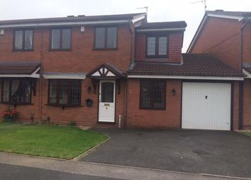 Thumbnail 3 bed semi-detached house to rent in Jasmine Way, Darlaston, Wednesbury