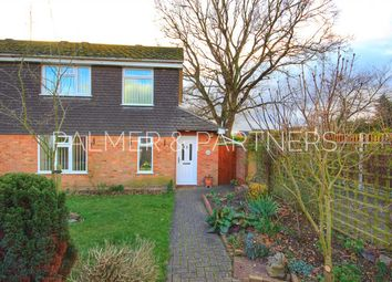 Thumbnail 3 bed semi-detached house for sale in Kempson Drive, Great Cornard, Sudbury
