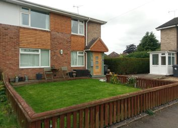 Thumbnail 2 bed flat to rent in Vesey Close, Water Orton, Birmingham