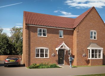 "Thumbnail 3 bed semi-detached house for sale in ""The Sandringham "" at Norwich Road, Wymondham"