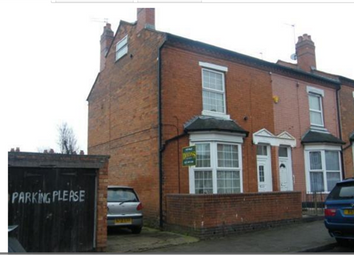 Thumbnail 4 bedroom end terrace house for sale in Beach Road, Sparkbrook, Birmingham