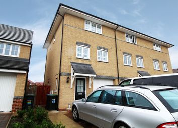 Thumbnail 3 bed town house for sale in Elliott Way, Consett, Durham