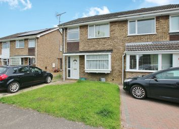 Thumbnail 3 bedroom semi-detached house to rent in The Trundle, Somersham, Huntingdon