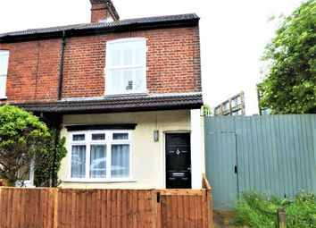 Thumbnail 2 bed end terrace house to rent in Camp View Road, St.Albans