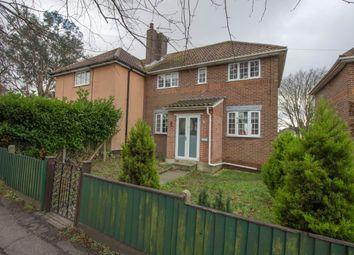 Thumbnail 3 bed semi-detached house for sale in Minden Road, Lowestoft
