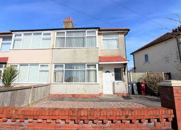 Thumbnail 3 bed semi-detached house for sale in Bleasdale Avenue, Thornton-Cleveleys, Lancashire FY53Qz