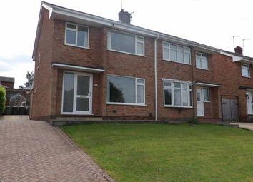 Thumbnail 3 bed semi-detached house for sale in Berwyn Way, Nuneaton, Warwickshire