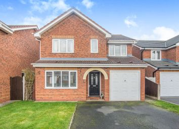 Thumbnail 4 bed detached house for sale in Mansfield Close, Tamworth