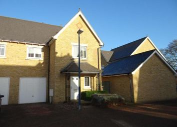 Thumbnail 3 bed semi-detached house to rent in Cinnamon Grove, Maidstone