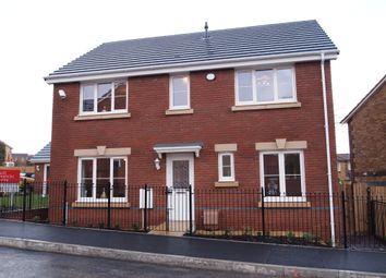 Thumbnail 4 bed detached house for sale in The Llancarfan, Gerddi Pentref, Coity, Bridgend