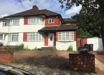 Thumbnail 3 bed semi-detached house to rent in Ashfield Road, London, Greater London.