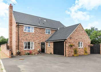 Thumbnail 5 bedroom detached house for sale in Fieldings Drive, Yaxham, Dereham