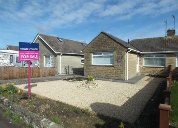 Thumbnail 2 bed semi-detached bungalow for sale in Windermere Road, Trowbridge, Wiltshire