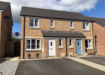 Thumbnail 3 bed semi-detached house for sale in Maes Pedr, Johnstown, Carmarthen