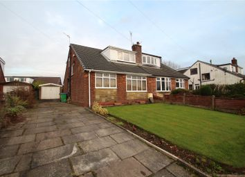 Thumbnail 4 bed semi-detached house for sale in Crossgates Road, Milnrow, Rochdale, Greater Manchester