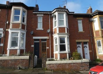 Thumbnail 2 bed flat for sale in Audley Road, Newcastle Upon Tyne